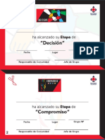 Certificado Etapas de Comunidad