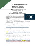 Palestra de D. Penal e Processual Penal (27.10)