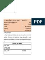 TALLER CAPITULO 5 ORDENES DE PRODUCCIÓN