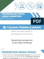 Pengenalan Sosial Media Marketing