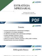 Estratégia Empresarial Mód. 01 - 2021.1