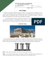 Apostila Arte Grega