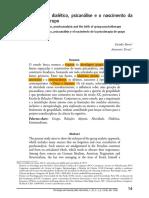 Estruturalismo dialético - psicanálise e psicoterapia de grupo