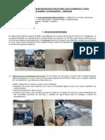 INFORME TECNICO - REPOTENCIACION ESTRUCTURAL LA MILAGROSA - DORALBA GIRALDO