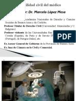 responsabilidad civil médicos  nuevo CCC Corrientes