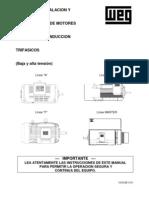 WEG - Manual de Instalación y Mtto de Motores Electricos de Induccion Trifasicos