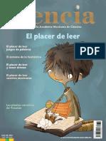 Ciencia. Revista de la Academia Mexicana de Ciencias. Octubre-diciembre 2016, volumen 67, número 4. El placer de leer