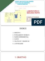 CONDUCTIVIDAD ELECTROLITICA - C BASICOS