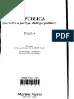 Platão - A República [Ou Sobre a Justiça, Diálogo Político] (2006, Martins Fontes)