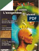 Nexus 43 - mars avril 2006 - Asthme, OVNI, Médias, Karma, Anton Parks & Sumer 1ère partie (complet)