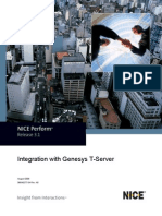Integration with Genesys T-Server