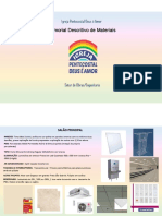 Memorial Descritivo de obras para IPDA