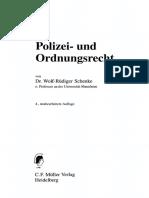 Indice Derecho policial aleman (otro)