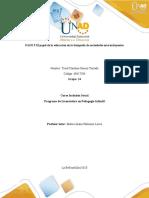 PASO 5 El Papel de La Educación en La Búsqueda de Sociedades Más Incluyentes