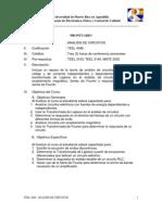 Prontuario Analisis de Circuitos
