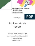 Exploración de Torax(AP. Respiratorio)