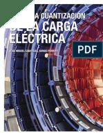 Cuantizacion de la carga electrica