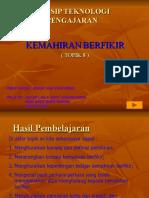 KONSEP KEMAHIRAN BERFIKIR