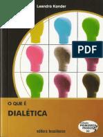 A Dialteica - Leandro Konder