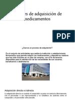 Fuentes de Adquisición de Medicamentos