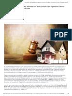 Sucesiones internacionales_ delimitación de la jurisdicción argentina cuando sólo existen inmuebles en el país _ Abogados.com.ar