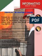 10º EDIÇÃO - PROTEJA-SE CONTRA O CALOR