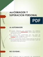 AUTOIMAGEN Y SUPERACION PERSONAL