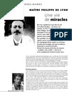 Nexus 48 - Guérisons Inexpliquées - Maître Philippe De Lyon - Une Vie De Miracles