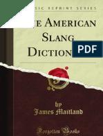 The American Slang Dictionary - 9781440083433