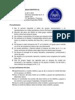 PLAN DE TRABAJO DISTRITO XL