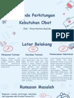 Tugas Pert. 3 Perhitungan Kebutuhan Obat (Revisi)