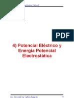 Cap 4 Potencial Eléctrico y Energía Potencial Electrostática