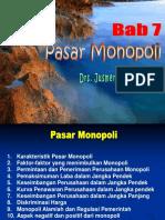 7. PASAR MONOPOLI