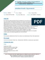 Administration-Oracle-11g-avancée