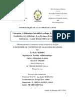 Etude de la QoS et conception d'une application de traitement des KPI