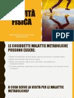prevenzione alle malattie metaboliche