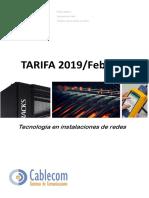 Tarifa 2019