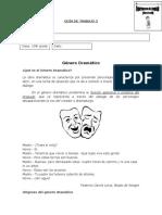 Guía género dramático