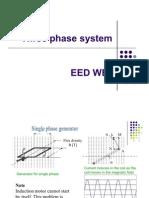 Three phase system