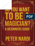 So You Want to Be a Magician- eBook