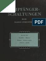 11 - 1957 - Empfanger Schaltungen Der Radio-Industrie - XI