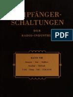 08 - 1957 - Empfanger Schaltungen der Radio-Industrie - VІII