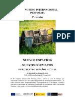 2ªCircular_CONGRESO INTERNACIONAL PERFORMA. NOVIEMBRE 2019 SANTIAGO COMPOSTELA