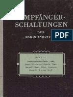 03 - 1954 - Empfanger Schaltungen der Radio-Industrie - IIІ