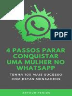Livro Digital - 4 Passos Para Conquistar Uma Mulher No Whatsapp