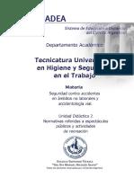 UD 2 - Normativa Sobre Espectáculos Publicos y Recreación