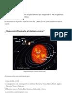 Sistema solar_ qué es, características y planetas