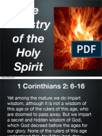 The Ministry of the Holy Spirit in 1 Cor 2:6-16