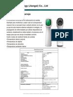 Ficha Técnica - Termometro