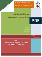 ASIR 1 - ISO 2013-14